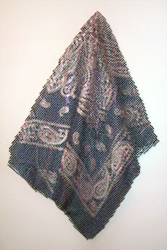 Black Bandana, 2001 by Devorah Sperber, 7,237 maptacks