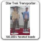 Transporter: Kirk and Spock Beaming-In, 2007-08, by Devorah Sperber, NYC