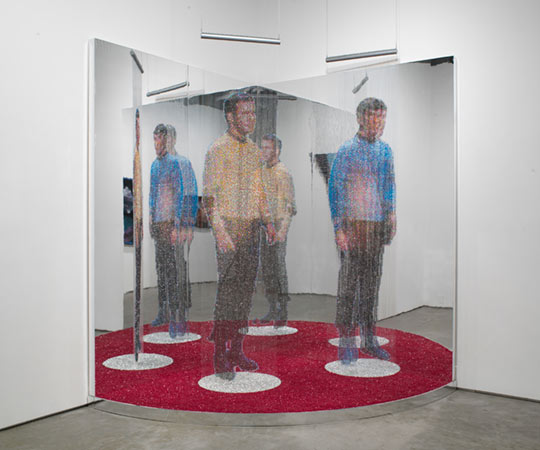 """Transporter: Kirk and Spock Beamin-In,"" 2007-2008, by Devorah Sperber, New York"