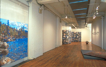 Post-Digital: 800 lbs. of Pixels, by Devorah Sperber, HEREArt Gallery, Soho, NY 2001
