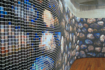 Virtual Environment, by Devorah Sperber, Diverse Works, Houston, TX 2002